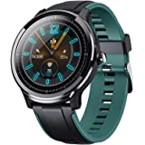 KOSPET PROBE Smart Watch 1.3 inch IPS Full Round Touch Screen Healthcare Sports Smart Watch Dual Colorful Silicone Watch Band