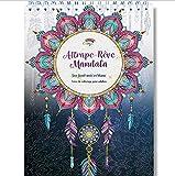 Livre de Coloriage Adultes Mandalas Anti-Stress Attrape-Rêve: le Premier Cahier de Coloriage avec papier artiste au format A4 sans bavure par Colorya...