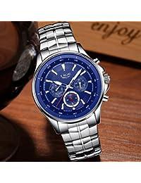 Lige Watch Men's Business Waterproof Clock Men's Watches Top Luxury Fashion Casual Sport Quartz Wristwatch