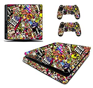 Video Games & Consoles Fast Deliver Sony Ps4 Playstation 4 Skin Design Sticker Screen Protector Set Canada Motif