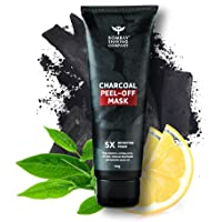 Bombay Shaving Company Activated Charcoal Peel Off Mask with 5X Detoxifying Power, fights pollution and De-Tans skin…