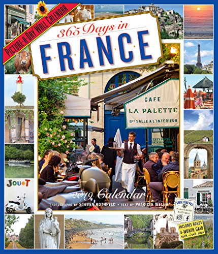 365 Days in France 2019 Calendar: Picture-a-day