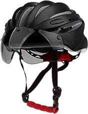 MagiDeal Wind Cross Road Mountain Bike Safty Helmet, Bicycle Motorcycle Adult Mens Womens Shockproof Helmets