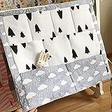 ?Baby Kinderzimmer Kinderbett multifunktionelle Windel Bettwäsche Multi Pocket hängen Aufbewahrungstasche Wolke