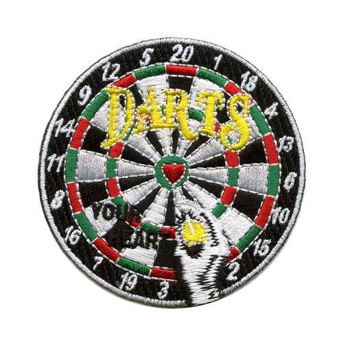 Dartscheibe Dartboard Darts Dart EM WM Qualität Patch Aufnäher Aufbügler K-22