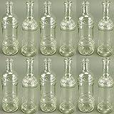 12 Stück Dekoflaschen - Vasen - Kerzenständer H 20,5 cm
