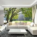 Wapel  3D Foto carta da parati tridimensionale paesaggi forestali Tv Sfondi 3D sfondo murale 250cmx175cm