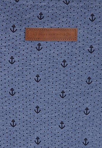 Naketano Damen Hoodie Blue Melange