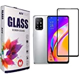 Aivtech Tempered Glass Screen Protector for Oppo F19 pro/Pro Plus, With Edge to Edge Full Screen Coverage and Easy Installati