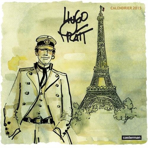 Hugo Pratt, 50 ans de création en BD, 1945-1995 : Calendrier 2015