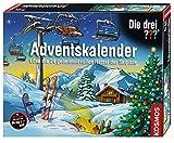 Geschenkidee Weihnachtskalender / Adventskalender - Kosmos 631154 - Die drei ??? Adventskalender 2016 - Löse die 24 geheimnisvollen Rätsel auf der Skipiste