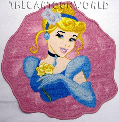 Princesa Cenicienta Disney alfombra para niños (67x 67cm)–niño–estilo: niño–MonBeauTapis