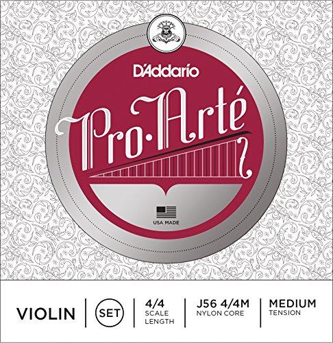 DADDARIO ORCHESTRAL J56 PRO ARTE 4/4 M   JUEGO DE CUERDAS VIOLIN