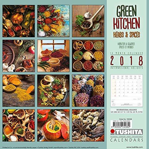 Green Kitchen 2018: Kalender 2018 (Wonderful World)