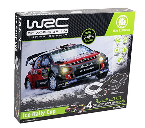 WRC Ice Rally Cup, Color Negro (Fábrica De Juguetes 91000.0)