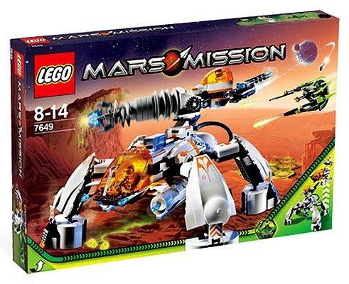 Lego Mars Mission Set #7649 MT-201 Ultra-Drill Walker by LEGO (Lego Mission Mars-sets)