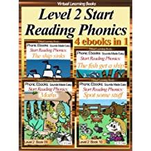 Level 2 Start Reading Phonics Books 07-10 (4 ebooks in 1) Collection (Childrens Learning To Read Picture Book) (Phonic Ebooks: Kids Learn To Read (Childrens ... 2 Collection) Sight Words) (English Edition)