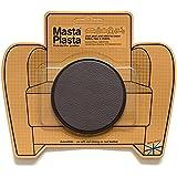 Reparador Cuero, Polipiel y Skai - Parches en Varios Colores - MastaPlasta - Circulo Grande (80mm) (Marrón Oscuro)