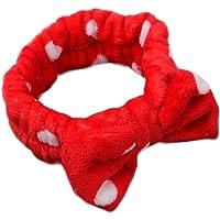 Jingyuu 1 pz pile coral fascia per capelli da bagno capelli fascia per capelli per viso lavaggio trucco doccia fascia…