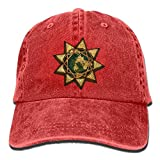 funy cute caps A Pakistani Baha'I's Story - Minority Rights Group.png Unisex Denim Baseball Cap Adjustable Strap Low Profile Plain Hats Outdoor Casquette Adjustable Sunbonnet Red