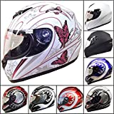 Best Motorcycle Helmets - *Christmas Sale* Leopard LEO-819 Full Face Motorcycle Motorbike Review