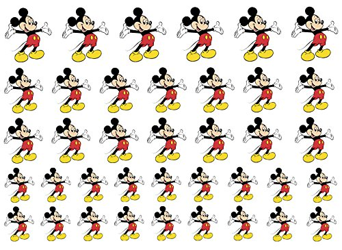 Image of Easy to use, High Quality Nail Art Decal Stickers For Every Occasion! Ideal Christmas present, stocking filler Mickey Mouse