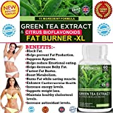#1 FAT BURNER,Green Tea Extract and Citrus Bioflavonoids ★ HIGH POTENCY & POWERFUL 11 ingredients Weight loss and Fat Burner Formula.★ Citrus bioflavonoids promote and support optimal health and weight loss. ★ Contains 11 key ingredients clinically proven to burn Body FAT fast ★ Support for a healthy immune system and METABOLISM BOOSTER.★ Made in the UK