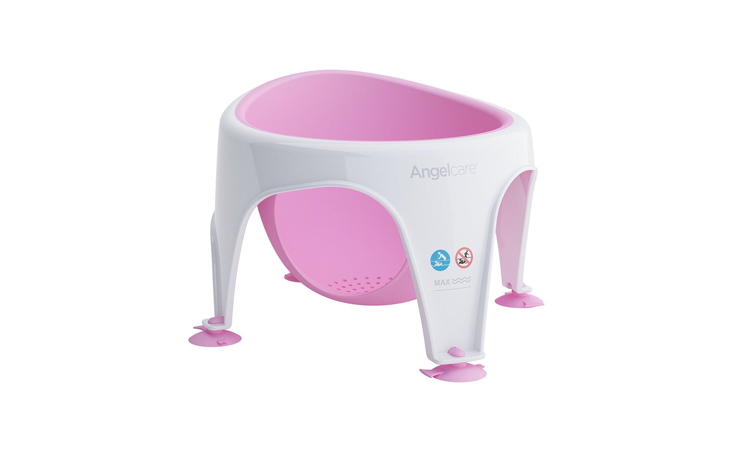 Angelcare Soft Touch Bath Seat (Pink) 689998351389 | eBay