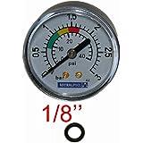 Astralpool manometer, 1/8 inch, 3 kg/cm².