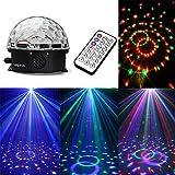 Ecloud Shop® DJ LED Lichteffekt Discokugel Licht Magic DMX512 RGB Projektor Weihnachten Stage