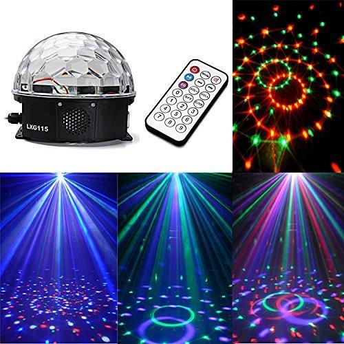 Ecloud Shop 12W LED RGB Bola Luz Iluminación Efecto