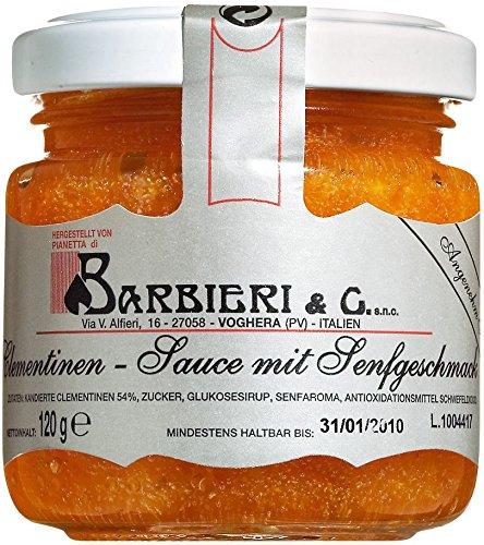Barbieri Salsa di clementine, Clementinensenfsauce 120 g Glas