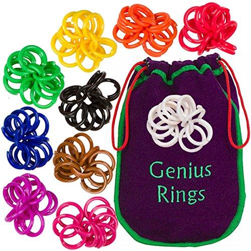Genius Ringe Chinesische Jacks Spielzeug Pädagogische Mathe Zählen Ringe von Genius Baby Project