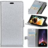 Vodafone Smart N9 Case, Codream Vodafone Smart N9 Back Shell Folio Flip Cover Phone Case Slim Slim Shell For Vodafone Smart N9 (Silver)