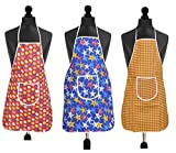 Best Aprons - Yellow Weaves Waterproof Cotton Kitchen Multi Apron Review