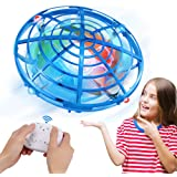 Innoo Tech UFO Drones for Kids with Gamepad Remote Control, Hand-Controlled Drone With 5 Infrared Sensors 360°Rotating and Fl