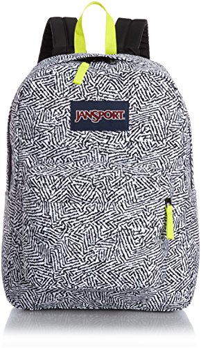 jansport-superbreak-sac-a-dos-synthetique-black-geo-graphic-taille-unique
