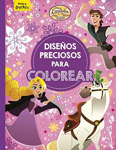 Enredados. La serie. Diseños preciosos para colorear (Disney. Enredados)