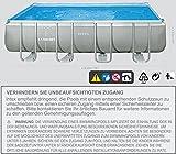 Intex 549x274x132 cm Schwimmbecken Swimming Pool Schwimmbad Ersatzpool Frame metal -