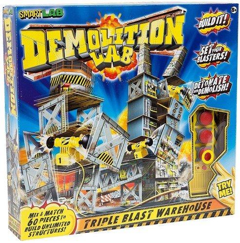 Lab Toys Demolition Lab Triple Blast Warehouse Ohrstöpsel 4 Centimeters  Schwarz (Black) ()