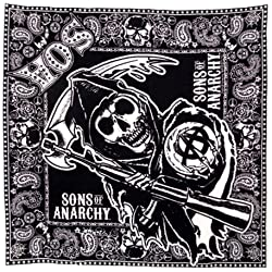 Sons of Anarchy Paisley Bandana