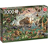 Jumbo Jumbo Premium Puzzle Collection 'Noah's Arc' 3,000 Piece Jigsaw Puzzle