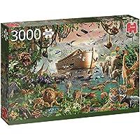 Jumbo - El Arca de Noé, puzzle de 3000 piezas (618326)