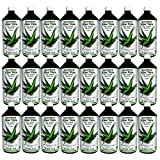 Aloe Vera IASC Barbadensis miller Trink Gel 24 Liter Sparpack von QueenRoyal | 99.55% Blatt-Gel pur. OHNE Geschmacksstoffe! OHNE Verdickungsmittel | #30039W