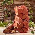 Softwood Firewood Logs 15kg Net of Premium Chunky Logs - Kiln Dried - Jumbo Heavy 60 litre net, 25cm long. Soft Wood Perfect for Wood Burner , Stoves, Log Burners - Fast Delivery