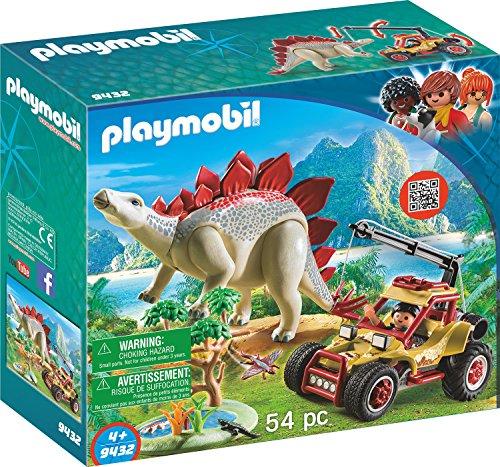 Playmobil 9432 - Veicolo degli esploratori e Stegosauro