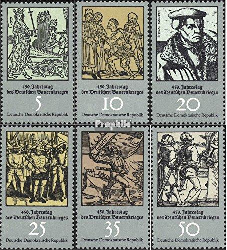 Prophila Collection DDR 2013-2018 (kompl.Ausgabe) 1975 Bauernkrieg (Briefmarken für Sammler)