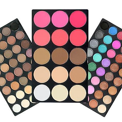TOFAR 95 Couleurs Palette de Fard à Paupière Waterproof Eyeshadow