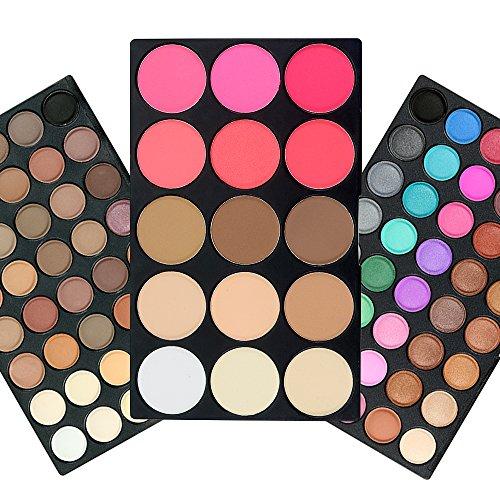 TOFAR 95 colores paleta de sombra de ojos Gama de Mate de Fundación Blusher Sombreador de Ojos Reflejo de Maquillaje impermeable sombra de ojos paleta conjuntos