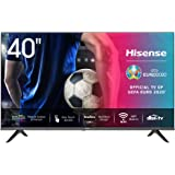 Hisense 40AE5500F 100cm (40 Zoll) Fernseher (Full HD, Triple Tuner DVB-C/S/S2/T/T2, Smart-TV, Frameless, Prime Video…